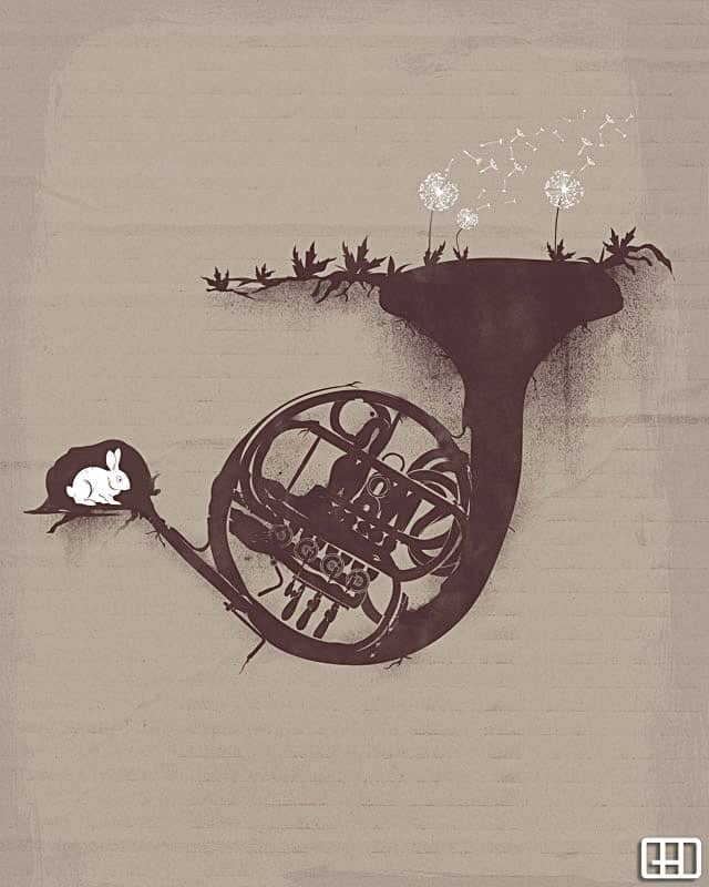 UNDERGROUND MUSIC by gedsalazargarcia on Threadless