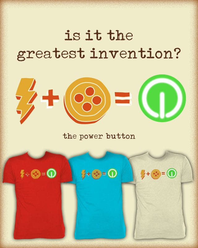 Power Button by free_agent08 on Threadless