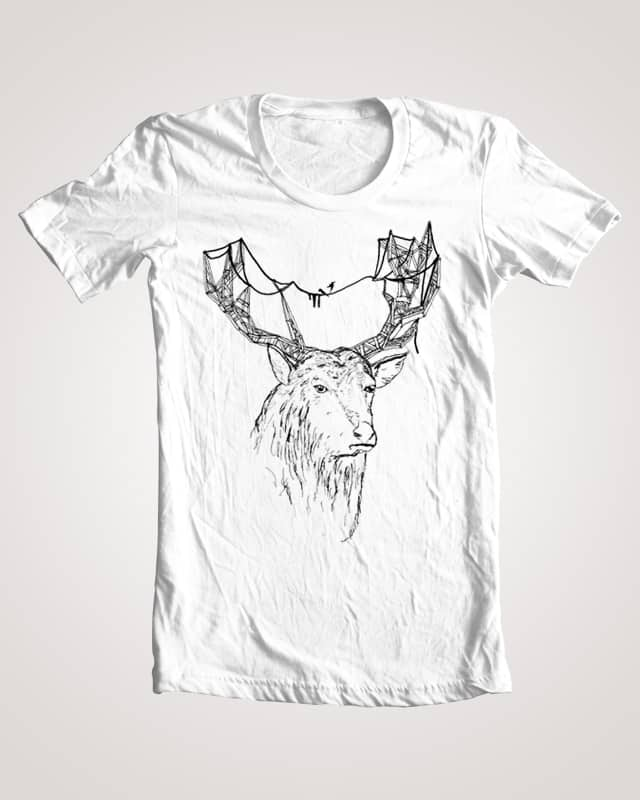 Man Made Stag by PierceB on Threadless