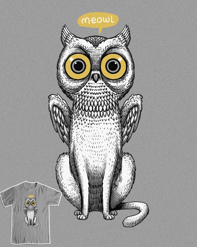 MEOWL by ES427 on Threadless