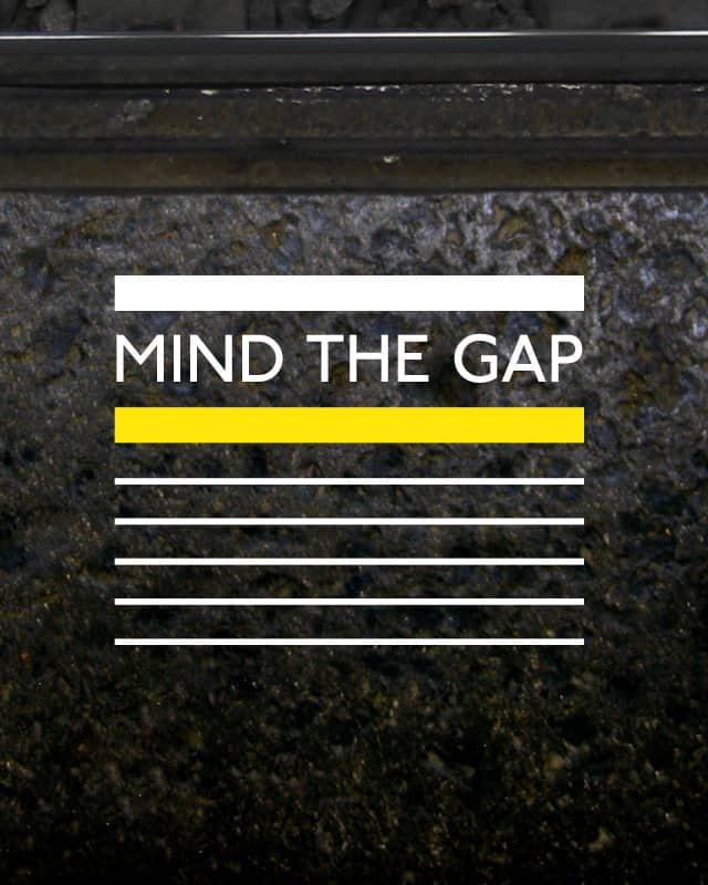 Mind the Gap by soulincode on Threadless