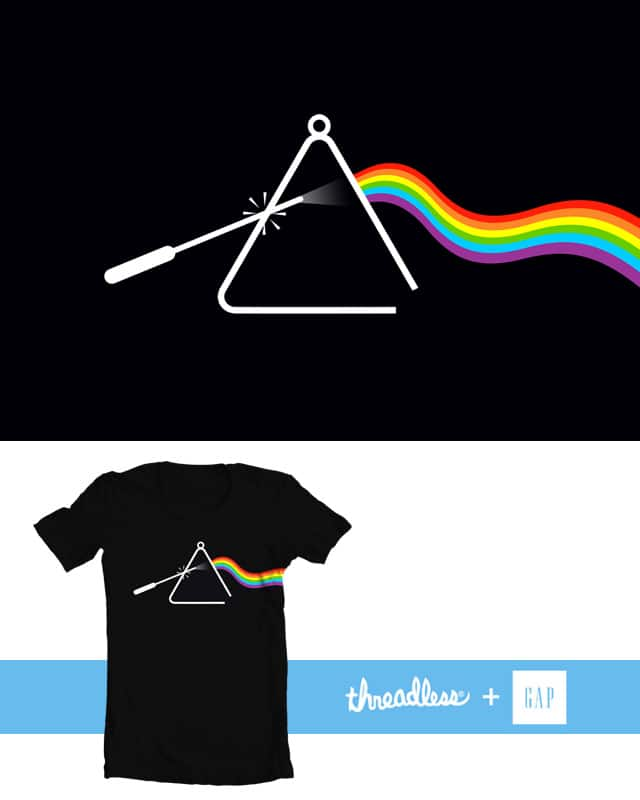 Triangles Rock! by Joe Conde on Threadless