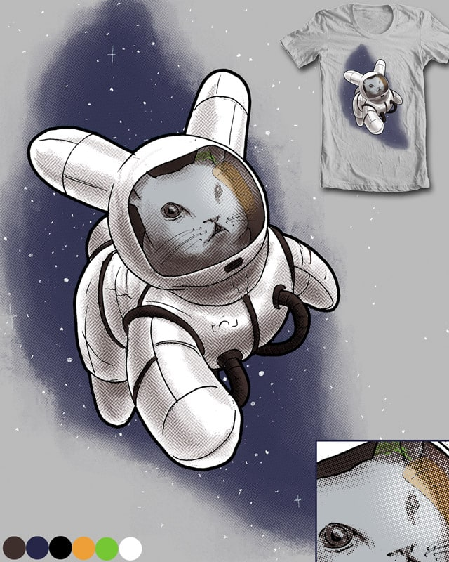 Rabbit in Space by robbielee on Threadless