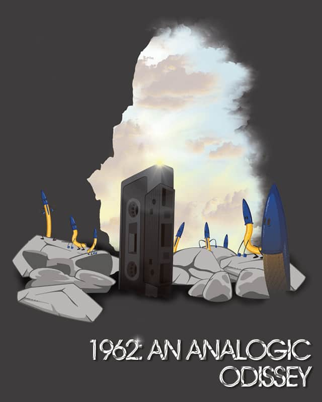 1962: An Analogic Odissey by biticol on Threadless