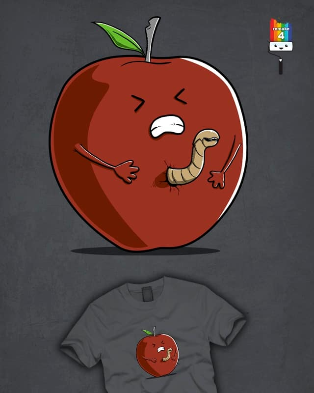 Alien, the worm passenger by Wirdou on Threadless