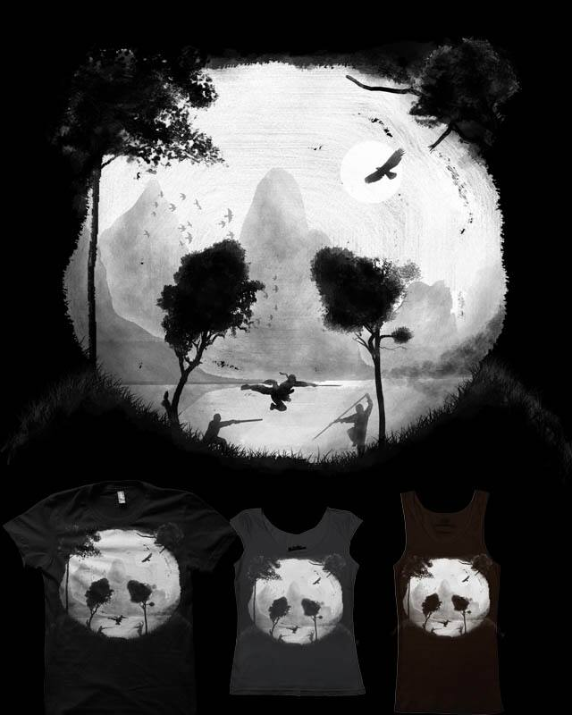 Crouching Panda, Hidden Somewhere by rejagalu on Threadless