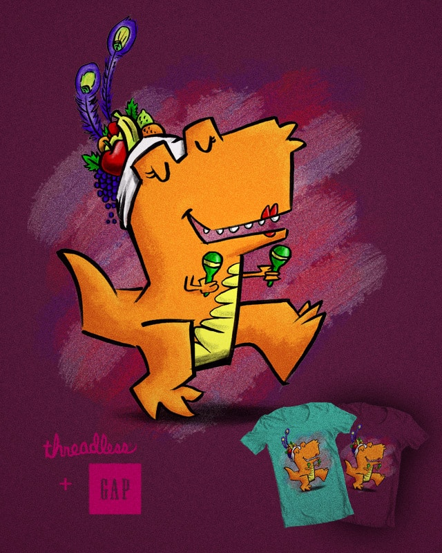 T-rex Miranda by StevenRice on Threadless