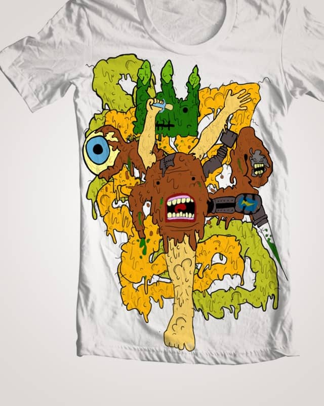 The Creature by LookWhatIMade on Threadless
