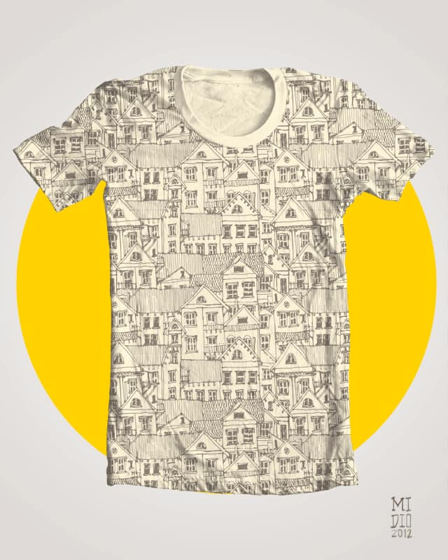 Urban Fabric by midio90 on Threadless