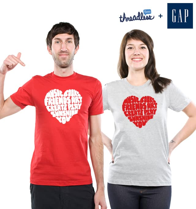 Love, Too by lunchboxbrain on Threadless