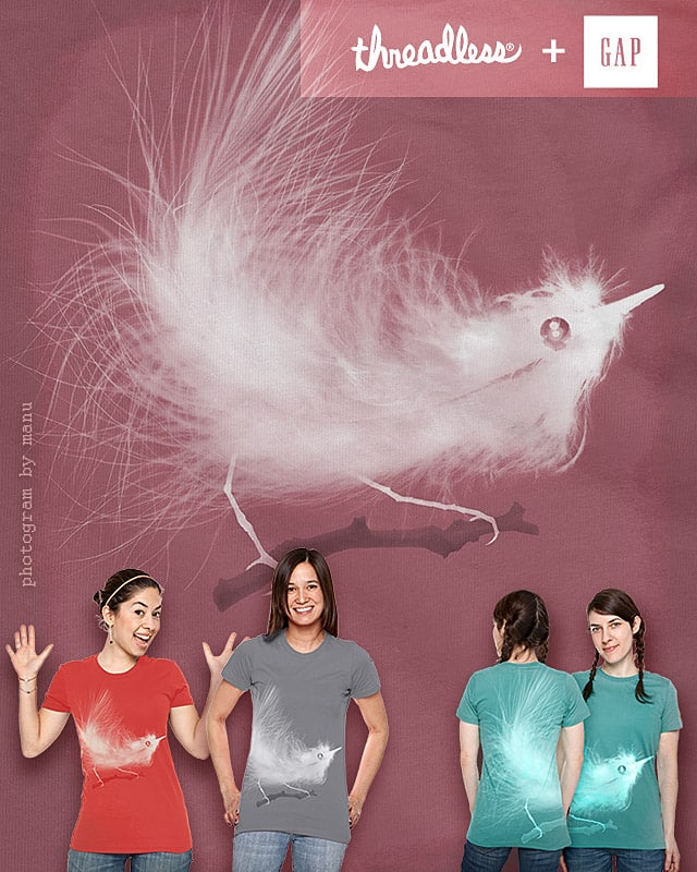 Light as a Feather by Manupix on Threadless