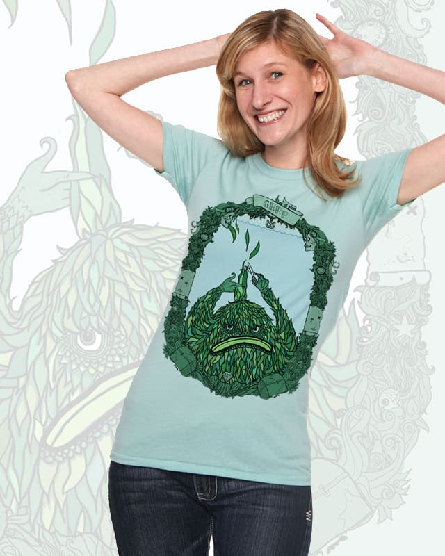 Seaweed Creature by sarahhogan on Threadless