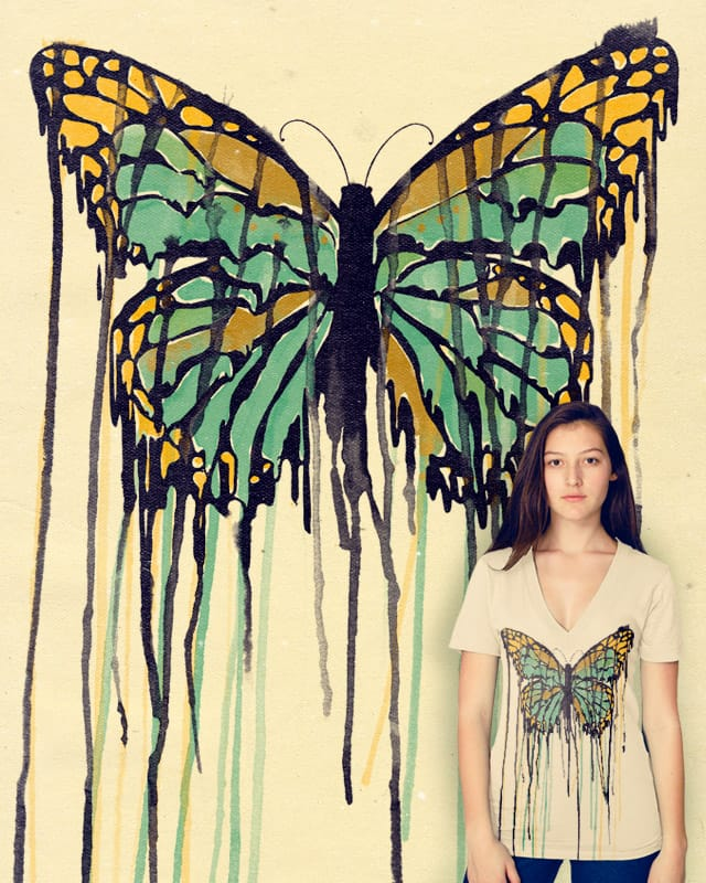 Melting Monarch by mathiole on Threadless