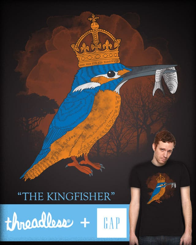 The Kingfisher by free_agent08 on Threadless