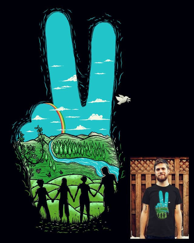 Peace Scenery by eQuivalent on Threadless