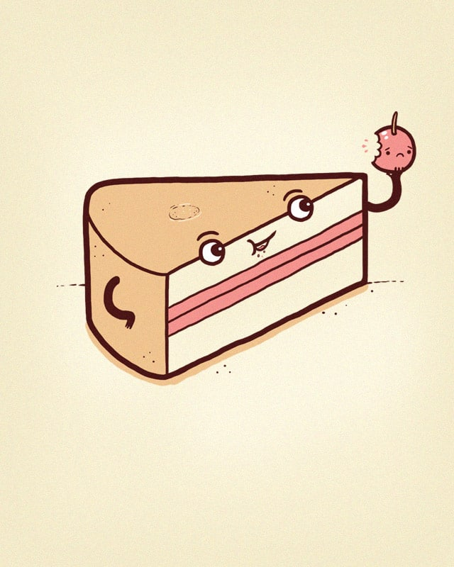 Cake mix-up by randyotter3000 on Threadless