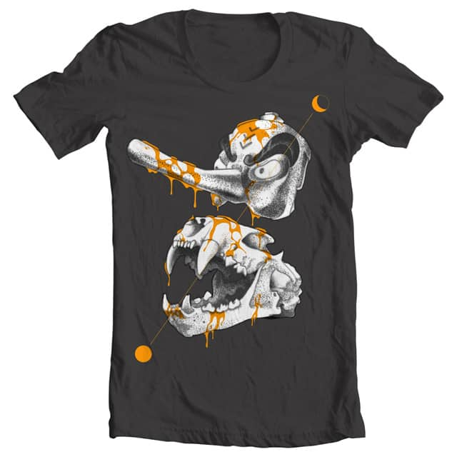 tengu bones by feash on Threadless