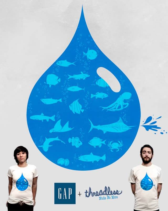Ocean Drop by Raulio on Threadless