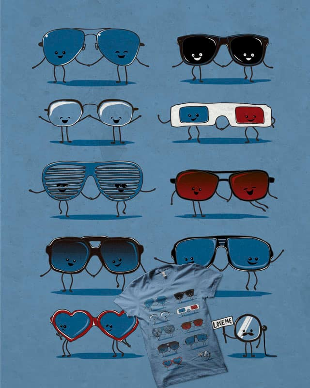 Everybody loves glasses! by cooljohnny on Threadless