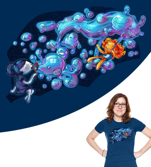 Creating the universe is fun! by JessyQueChido on Threadless
