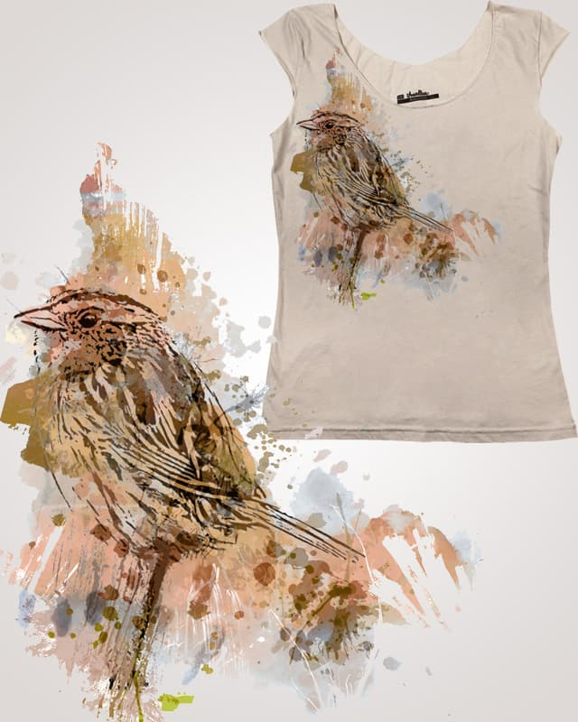 Moineau by Kat Phillips on Threadless