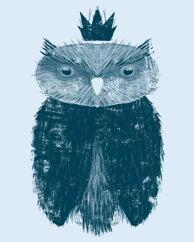Owl King by erdavid on Threadless
