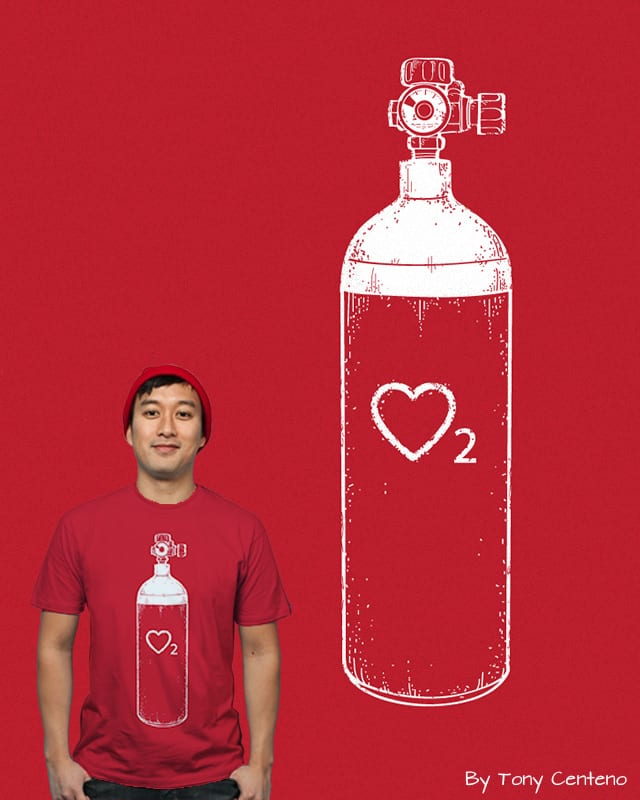 Love Is In The Air by Tony Centeno on Threadless