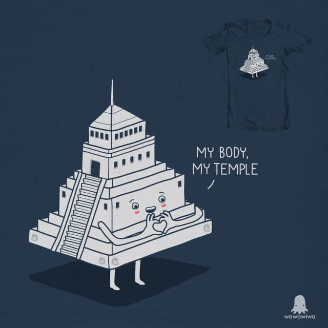 My body, My temple by wawawiwa on Threadless