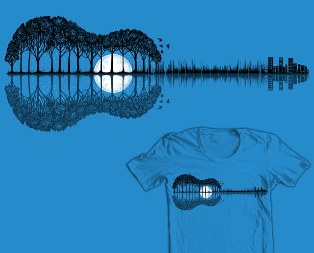 Echoes From The Woods by malo and the whale on Threadless