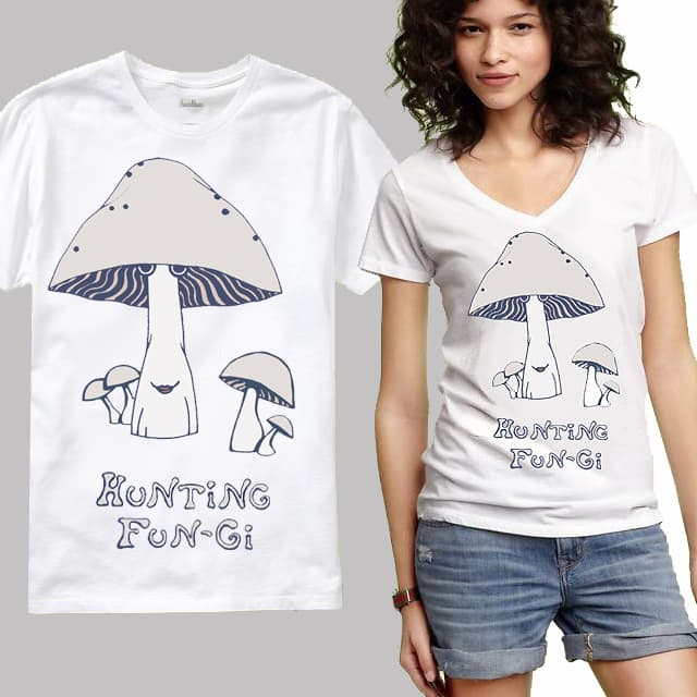 Hunting Fungi by 1destiny on Threadless