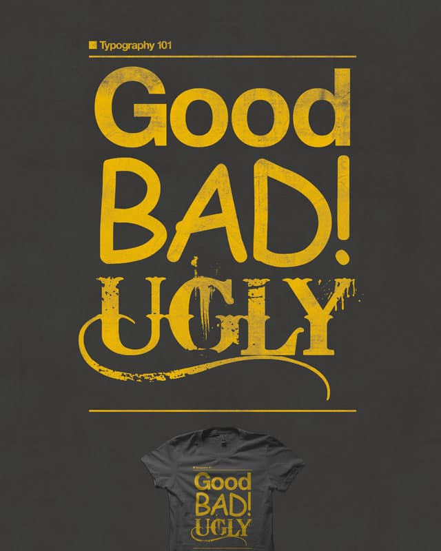 Typography 101 by quick-brown-fox on Threadless