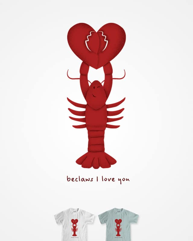 Loving Lobster by murraymullet on Threadless