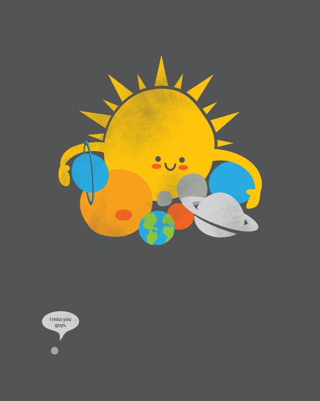 Hugs are for Planets Only by hadriabeth on Threadless