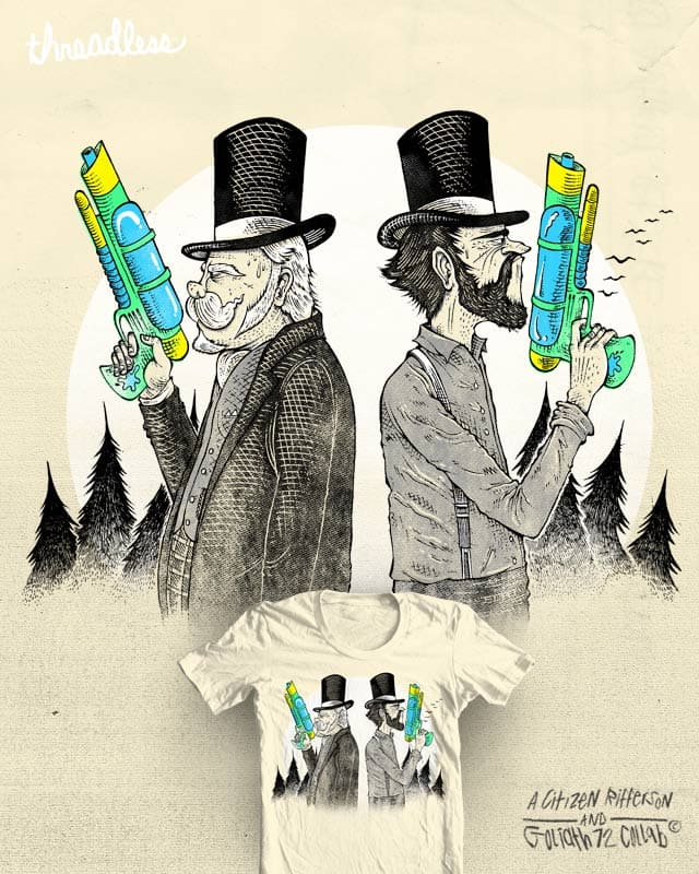 Summer Duel by citizen rifferson on Threadless