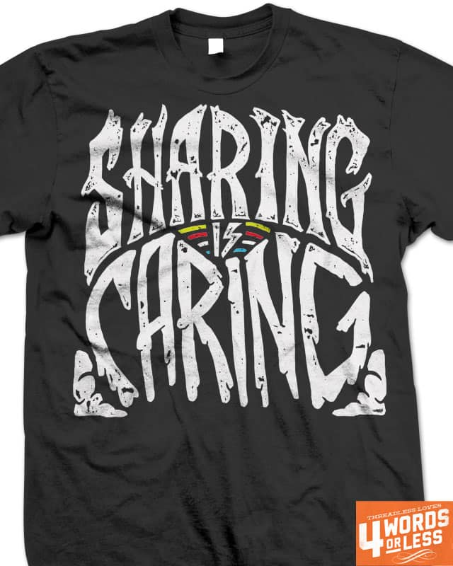 sharing is caring by campkatie on Threadless
