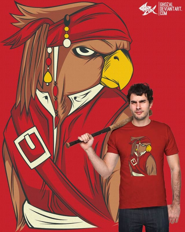 parrot or pirate by ghozai on Threadless