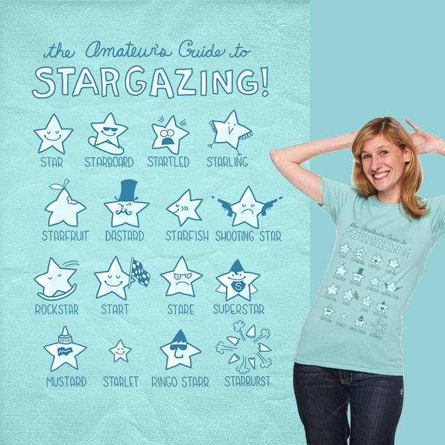 The Amateur's Guide to Stargazing by mismonaut on Threadless