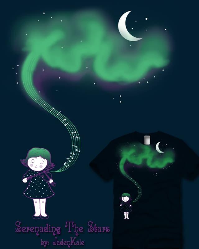 Serenading the Stars by JadenKale on Threadless