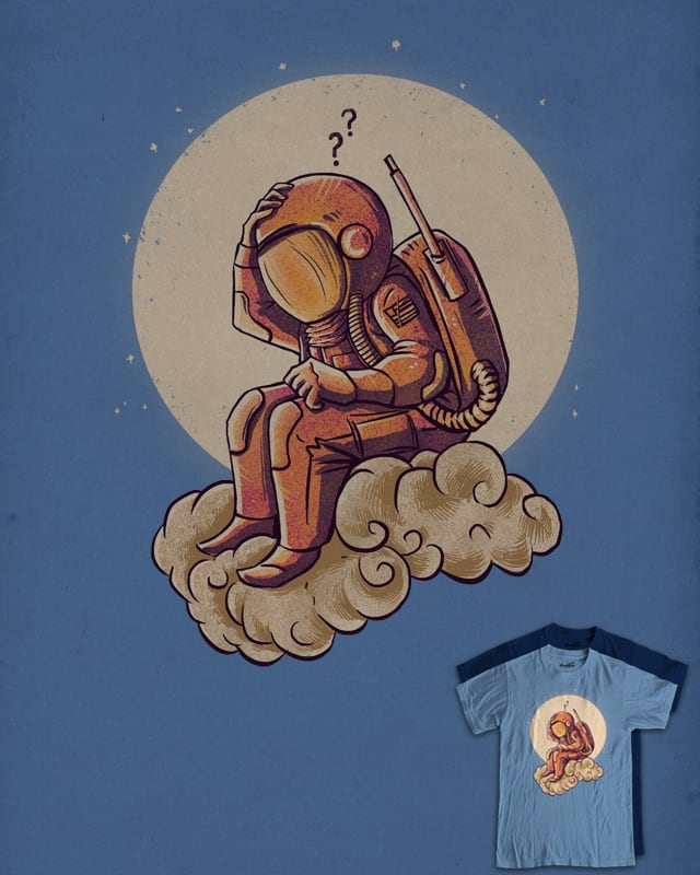 Why in the cloud by barmalisiRTB on Threadless