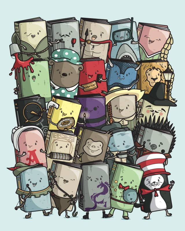 Storytellers: the sequel by Recycledwax on Threadless
