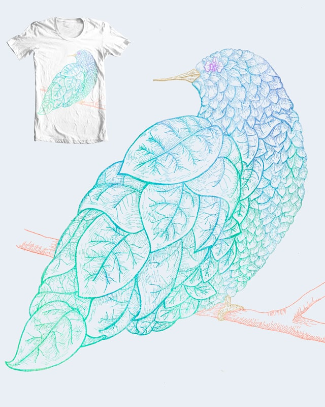 LeafBird by camilaplate on Threadless