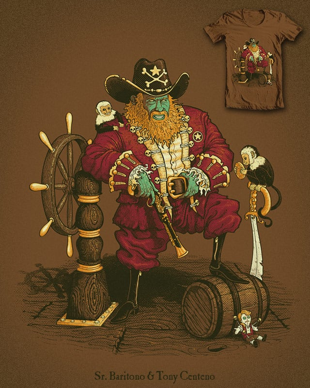 LeChuck Norris by Tony Centeno on Threadless