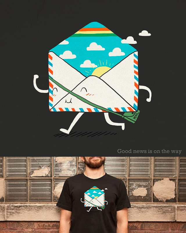 Good news is on the way by ilovedoodle on Threadless