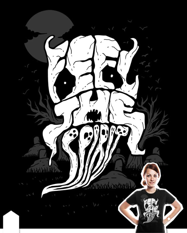 feel the spirit by sayahelmi on Threadless