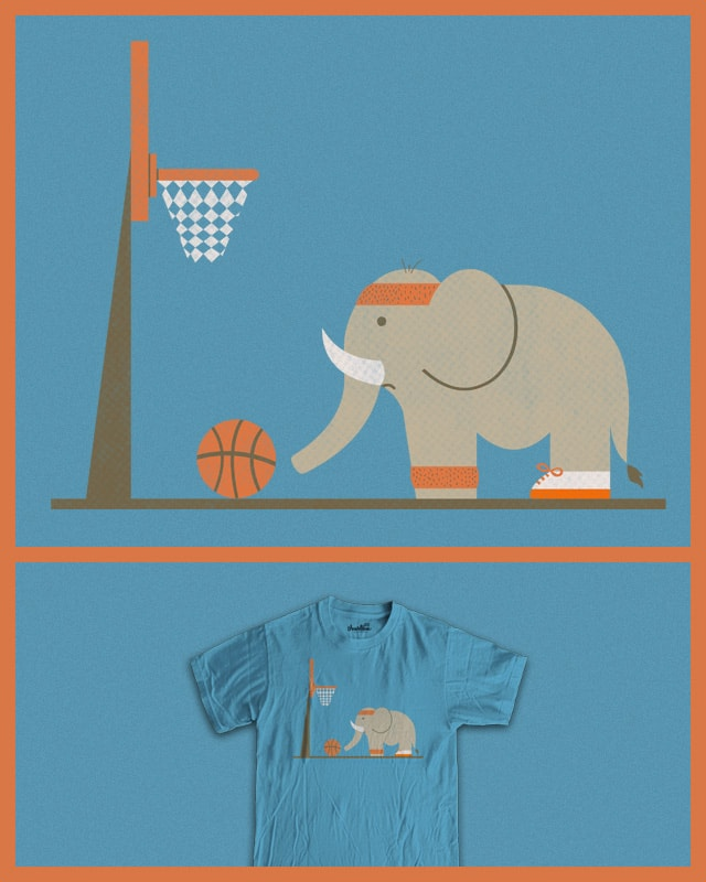 Elephants Can't Jump by TeoZ on Threadless