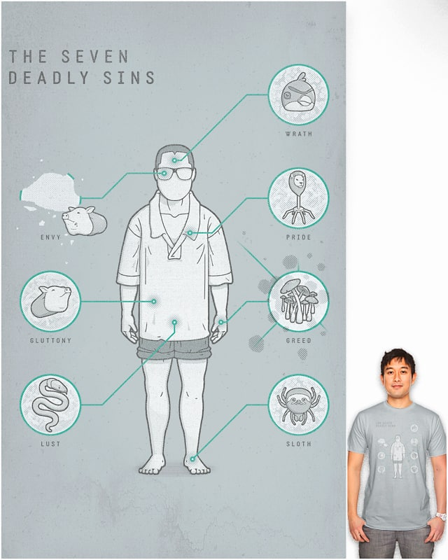 the seven deadly sins by anna axilla on Threadless