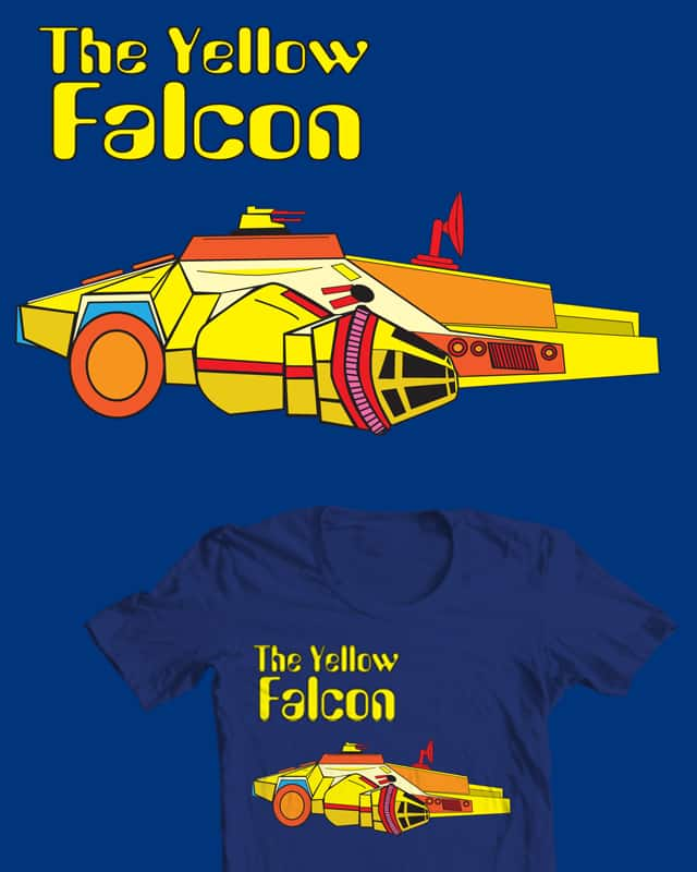 The Yellow Falcon by re-encrypt the bios on Threadless