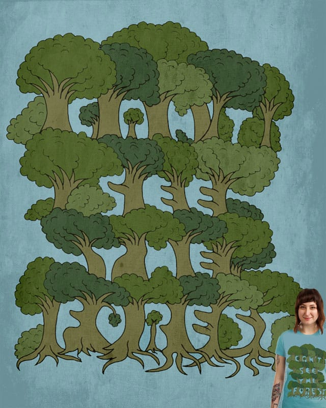 For the Trees by ArTrOcItY on Threadless