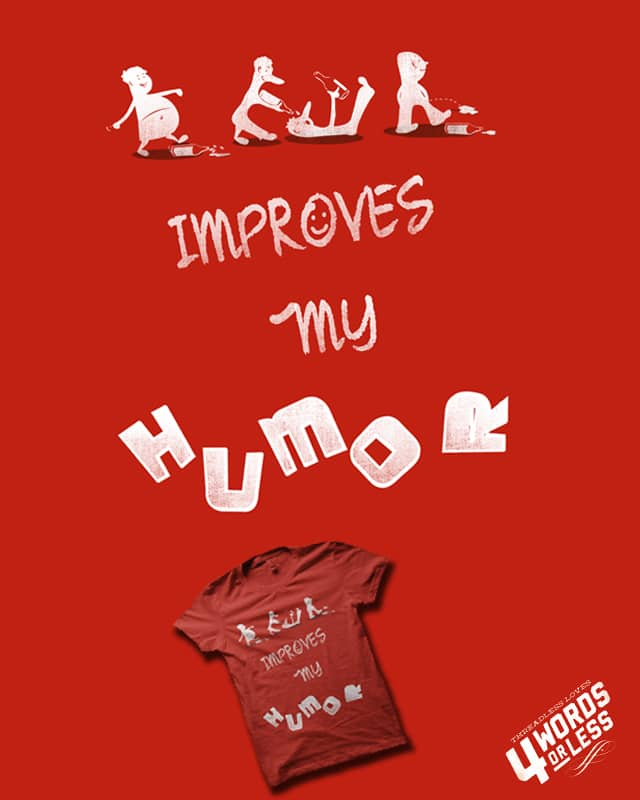 BEER improves my humor by bandy on Threadless