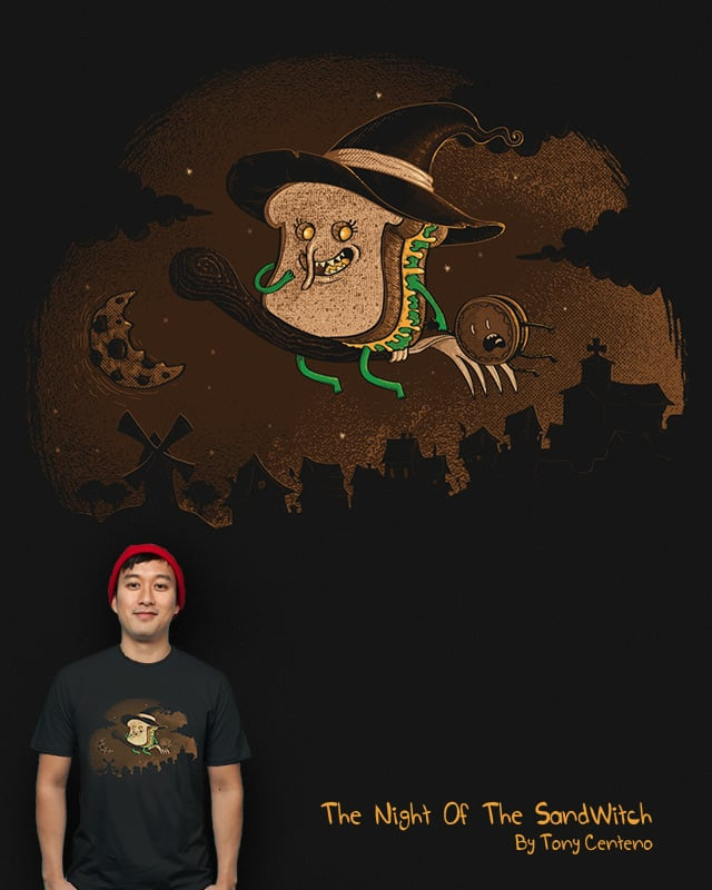 The Night Of The SandWitch by Tony Centeno on Threadless